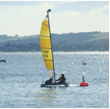 Russell Boat and Bike Hire 12 ft Catamaran