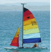 Russell Boat and Bike Hire 14 ft Catamaran