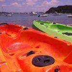 Double Kayak - Russell Beach, Bay of Islands, NZ